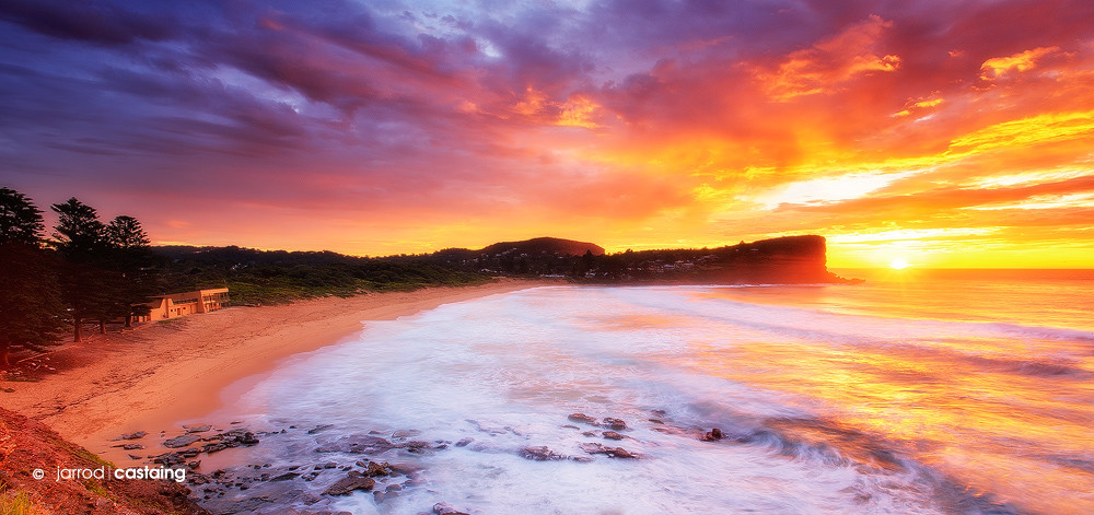 Limited Edition Print - Sunrise over Avalon Beach