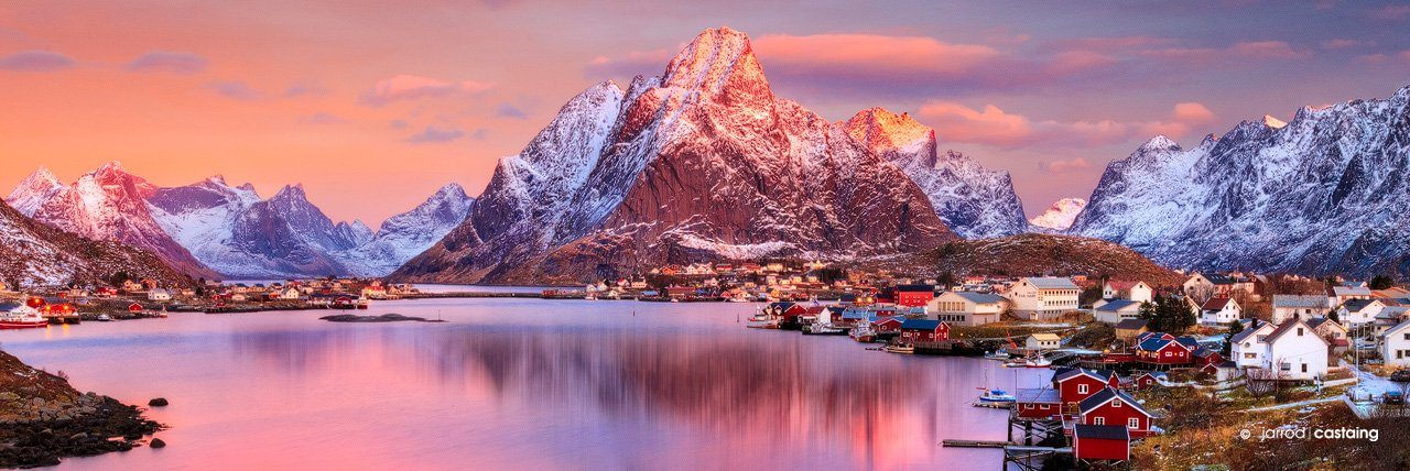 Fine Art Landscape Photographic Print of Lofoten Norway