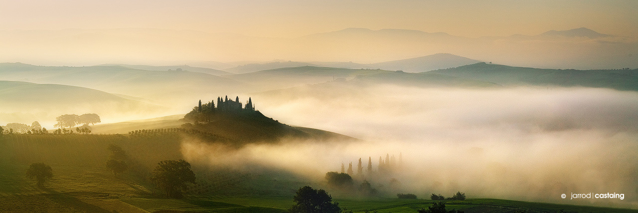 Fine Art Landscape Photographic Print of Tuscany